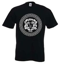 GREENMAN T-SHIRT - Pagan Wicca Celtic Green Man Festival - Choice Of Colors