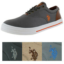 U.S. Polo Assn Men's Skip In Boat Shoes Sneakers Nappa Faux Leather