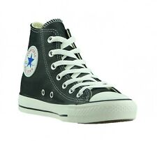 CONVERSE Chucks Shoes Leather Sneakers All Star Hi  Black 132170C