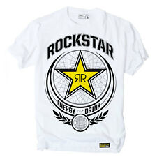 Factory Effex Rockstar Energy Imperial White T-Shirt Tee Adult Mens Licensed NEW