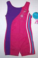 NWT New Jacques Moret Biketard Ultimate Champion Silky Shimmer Nice Cute Girl