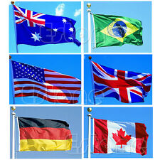 Indoor Outdoor 3x5 feet Country Flag Banner National Pennants USA Canada