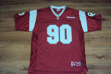 OKLAHOMA SOONERS NEW NCAA MAJESTIC COVER TWO FOOTBALL JERSEY