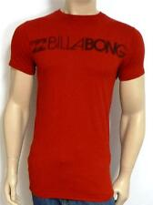 Billabong Triplicate Tee Mens Red Cotton In Conversion To Organic T-Shirt NWT