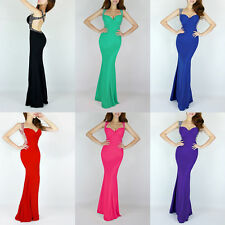 SEXY Mermaid Evening Dress Formal Gown Cocktail Bridesmaid Wrap Long Prom Dress