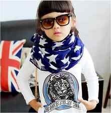 NEW Hot fashion star children's scarf Voile silk with scarf The girl Scarf Shawl