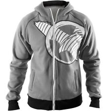 "Hayabusa ""Soar"" Zip Up MMA Hoodie - Gray"