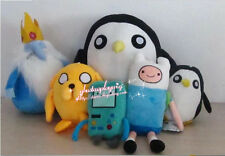Adventure Time Finn Jake  BMO Beemo The Ice King Gunter soft plush toy 9style