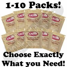 PICK 1-10 PACKS LALVIN Bourgovin RC 212 Yeast Home Wine Cider Mead Making