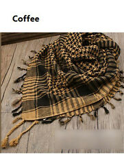 Unisex Exquisite Cool Polyester Arab Shemagh KeffIyeh Shawl Scarves Scarf HUCA