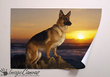 GERMAN SHEPERD GIANT WALL ART POSTER A0 A1 A2 A3