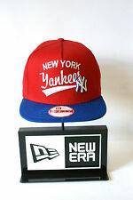 New Era 9FIFTY new York Yankees Red Hat Blue Peak Snapback hat Baseball Cap