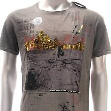 m311 Minute Mirth T-shirt Sz M Tattoo Skull Grey Black Brown Men NIB w/ Box Rock