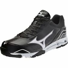 Mizuno Speed Trainer 4 Baseball Turf Shoe Black & White Men's ALL SIZES