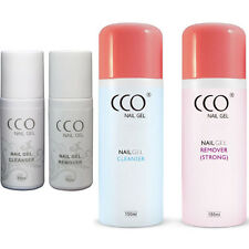 CCO UV/LED NAIL GEL CLEANSER & REMOVER 150ml / 75ml BOTTLES Any Shellac Nail Gel