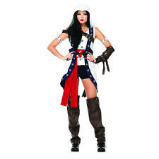 Assassin's Creed Woman's Connor Halloween Costume - Adult Size