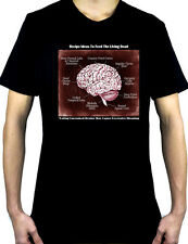 Recipe Ideas to Feed the Living Dead T-Shirt Gothic Horror Zombie Brains Walking