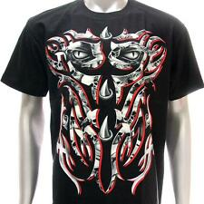 sc79 Sz L XL XXL Survivor Chang T-shirt Tattoo Glow in Dark Metal Rock Design