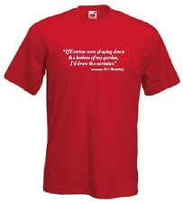Bill Shankly Liverpool FC Football Club Curtains Quote T-Shirt - All Sizes