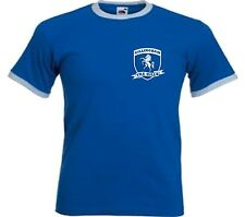 Gillingham FC The Gills Retro Football Club Shield T-shirt - All Sizes Available
