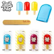 Ladies Quality Ice Lolly Nail File Xmas Stocking Fillers For Girls