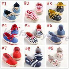 Elegant Baby shoes soft fashion boys girls infant toddler crib newborn-18 months