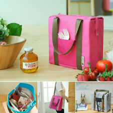 Thermal Insulated Waterproof Tote Shoulder Picnic Cooler Lunch Storage Bag