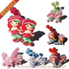 Hot,6pairs Strawberry Shortcake Kids Girls Hair Accessories/Hair Clip/Hair Bands