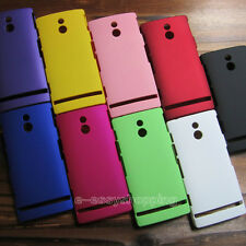 1x Ultra-thin PC Hard Cover Skin Case for Sony Xperia P LT22i