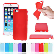 New Candy Color Soft TPU Silicone Rubber Thin Bumper Case Cover For iPhone 6 4.7