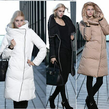 Women's Down Jacket Down Coats Long Style Hooded Outwear Overcoat Parka 3Colors