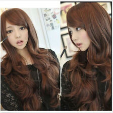 New Fashion Womens Girls Sexy Style Wavy Curly Long Hair Lady Full Wigs/Wig