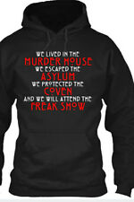 American Horror Story Freak Show Murder House Asylum Coven Hoodie New