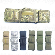 uk delivery tactical hunting padded carry case air rifle gun slip bag 5 color