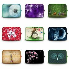 """Colorful Neoprene Sleeve Case Cover Bag for 9"""" 10"""" 10.1"""" Netbook Notebook Laptop"""