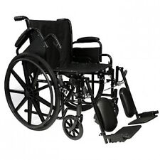 """Invacare Veranda 16"""" Standard Wheelchair, with Choice of Arm and Leg Rigging."""