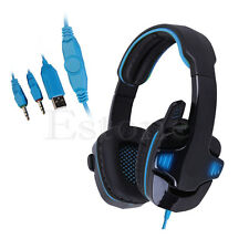 Fidelity surround headset 3.5 mm headset microphone professional gaming laptop