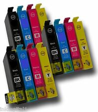 12 x Inkjet Cartridges ( 3 Sets ) Compatible With Epson T1281,T1282,T1283,T1284