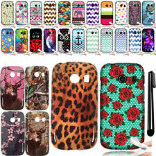 For Samsung Galaxy Ace Style S765C Art Design TPU SILICONE Case Phone Cover +Pen
