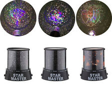 NEW Romatic Lover LED Starry Night Light Cosmos Flash Star Master Projector Lamp