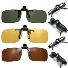 Best Selling Day vision glasses Colorf Lens Polarized Night Vision Flip Up Clip
