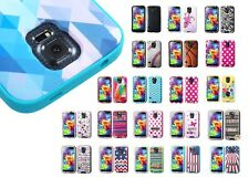 Design Hard Shell + Silicone Cover VERGE Hybrid Case for Samsung Galaxy S5
