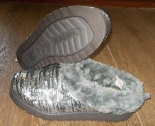 NEW BOBS SKECHERS KEEPSAKES SHIVER Slip on Shoes Clogs WOMENS bling faux fur