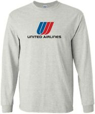 United Airlines '74-'93 Tulip Logo US Merged Airline Long-Sleeve T-Shirt