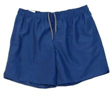 Free Country Blue Brief Lined Swim Trunks Boardshorts Mens NWT
