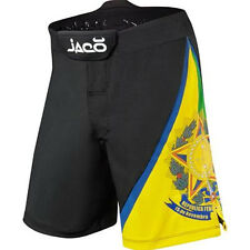 Jaco Brazil Resurgence MMA Fight Shorts - Black