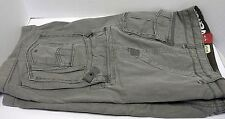 UNIONBAY CARGO SHORTS PALM VINTAGE 30 MEN SURPLUS GRAY Y18GH3D DRAWSTRING WAIST