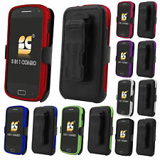 Samsung Galaxy S Relay 4G T699 T-Mobile Snap On Hard Holster Clip Case Cover