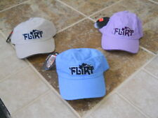 """NEW VIBE ADJUSTABLE WOMEN'S BASEBALL CAP """"FLIRT"""" NEW WITH TAGS FREE SHIPPING"""