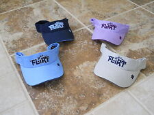 """NEW VIBE ADJUSTABLE WOMEN'S VISOR """"FLIRT"""" NEW WITH TAGS FREE SHIPPING"""